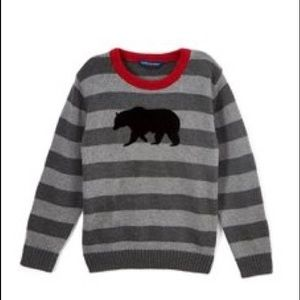 Other - Boys size 12 winter sweater with bear striped
